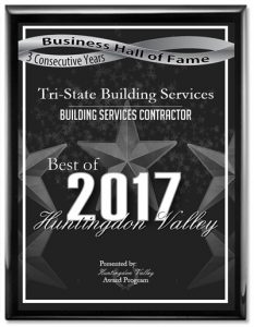 Tri-State Building Services Receives 2017 Best of Huntingdon Valley Award
